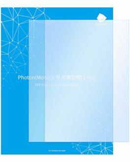 ANYCUBIC 2 PCS Film FEP 8.9 », Feuille de Remplacement de Film Téflon 260 x 175 x 0,15 mm pour Imprimante 3D Résine…