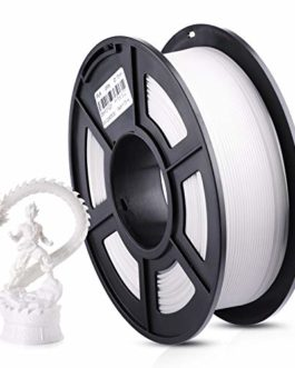 ANYCUBIC Filament 1,75 PLA – Blanc – 1 kg – Pour imprimante 3D