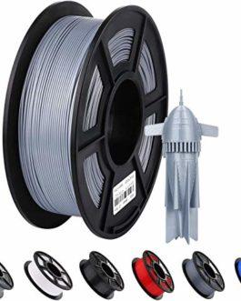 ANYCUBIC Filament PLA – 1,75 mm – Gris – Pour imprimante 3D et stylo 3D – 1 kg