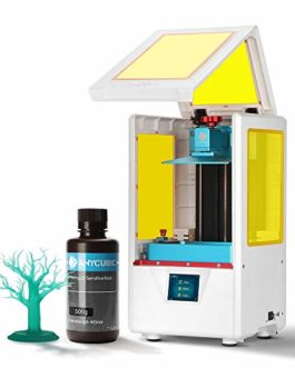 ANYCUBIC Imprimante 3D Photon S LCD pour photopolymérisation MARS UV double axe Z Smart Touch couleurs Screen Printer…