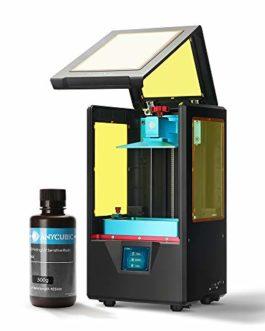 ANYCUBIC Imprimante 3D Photon S LCD pour photopolymérisation MARS UV double axe Z Smart Touch couleurs Screen Printer Offline Impression 3D Dimensions 115 x 65 x 165 mm, Photon S, Noir , 1