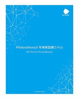 ANYCUBIC Lot de 5 films FEP pour imprimante 3D Photon Mono X/Photon X Résine