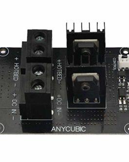 ANYCUBIC Module de contrôle de l'alimentation du lit chauffant DC 24V, Module MOSFET pour le lit chauffant ULTRABASE de…