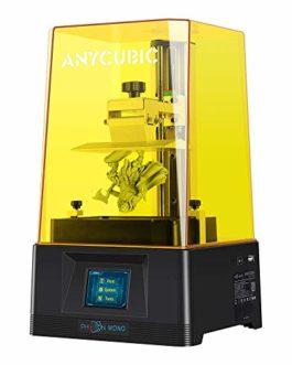 ANYCUBIC Photon Mono 3D Printer Imprimante 3D à résine LCD à séchage UV avec écran LCD Monochrome 2K de 6 Pouces…