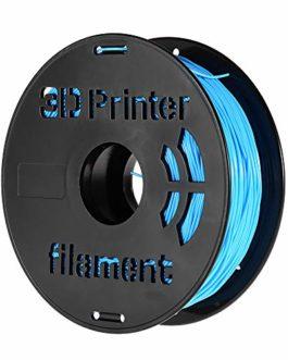 Aibecy 1 kg/bobine filament flexible en TPU pour imprimante 3D Vert pomme 1,75 mm bleu
