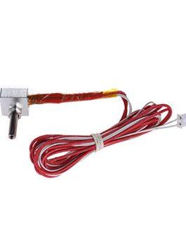 Aibecy DIY Hot End Kit 0.4mm Buse et M6 30mm Extrudeuse Gorge et 12V 40W Chauffage & Chauffe Thermistor et Aluminium…