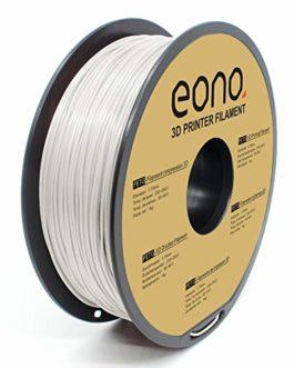 Amazon Brand-Eono PETG Filament 1.75mm,Imprimante 3D Filament PETG 1Kg Spool,Précision Dimensionnelle +/- 0.03mm,Blanc…