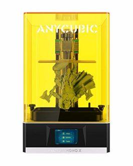 Anycubic Imprimante 3D Photon Mono X UV Imprimante 3D en résine SLA LCD à photopolymérisation avec écran LCD Monochrome…
