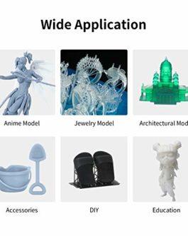 Anycubic Résine à base de plantes 3D 405 nm UV 3D Rapid Résine biodégradable et odeur Convient pour imprimante LCD DLP…