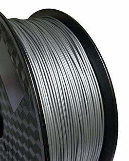 Auartmetion 1pc 3D Printer Filament métal PLA 1.75mm 0,5 kg Spool Or Argent Cuivre Bronze givré Bronze métallique PLA…