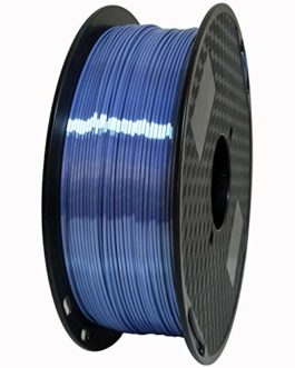 Auartmetion 1pc Silk Silver Blue PLA Filament 1.75mm de l'imprimante 3D Filament Silky Shine 3D Pen Impression…