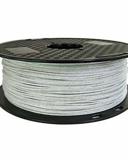 Auartmetion 1pc imprimante 3D PLA Filament PLA Marbre 1.75mm 1 kg/Matériel de Fil Pierre 0.1KG Impression 3D (Taille…
