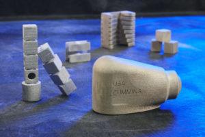 Cummins va commercialiser une pièce de moteur imprimée en 3D avec la technologie Binder Jet de GE