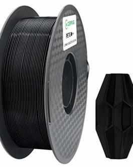 CERPRiSE PETG Filament 3D Printing Material 1.75mm Filament PETG 3D Printing Material 1kg / roll (2.2 lbs), Gray