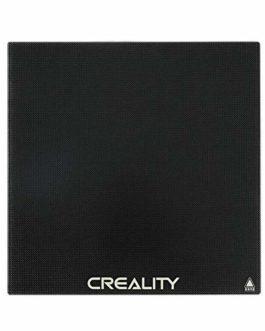 Comgrow Creality 3D Plaque en Verre Trempé de Plateforme d'imprimante 235 * 235mm pour Lit Chaud Ender 3/Ender 3 Pro…