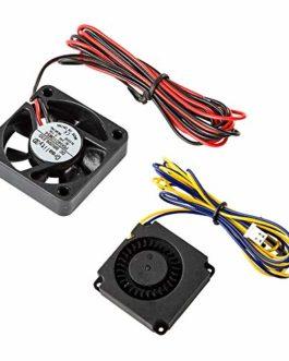 Comgrow Creality Ender 3 V2 Original 4010 Ventilateurs 40x40x10MM DC 24V Extrudeuse Hot End et DC 24V Turbo Fan pour…