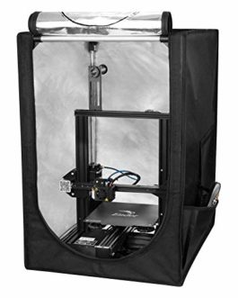 Comgrow Creality Tente d'imprimante 3D, Boîtier de Protection Contre le Feu, la Poussière et la Température
