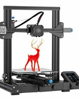 Imprimante 3D Creality【Ender 3 V2】 avec Carte Principale silencieuse, boîte à Outils Pratique, Alimentation MeanWell et…
