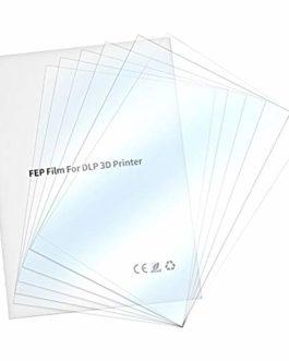 Creality UV FEP Film Release Films High Transmittance for ELEGOO Mars, ANYCUBIC Photon and Creality LD002R LCD SLA DLP…