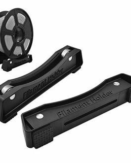 Cyleibe Lot de 2 supports de filament pour imprimante 3D avec roulements à billes, matériel d'impression 3D, étagères de…