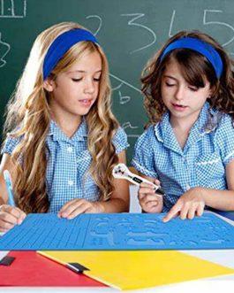 Modèle pour stylo 3D, modèle de stylo d'impression 3D, grand tapis avec motif animal utile pour les débutants, les enfants et les artistes 3D, avec 2 doigts étable