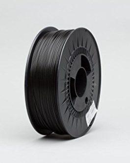 Digitalrise® PETG ø1.75mm (1kg spool – 800gr Filament) 3D printer Filament, color: BLACK (RGB 000:000:000)- Made in…