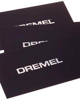 Dremel 2615BT01JA Lot de 3 Films d'impression pour 3D20