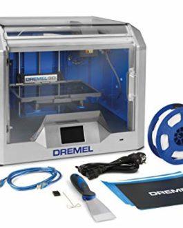 Dremel 3D40 Printer – Imprimante 3D avec Écran Tactile de Contrôle en Couleurs et Wifi pour Filament PLA