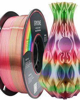 ERYONE Métal Lustre Soie arc-en-ciel PLA Filament Imprimante 3D Filament PLA Multicolore