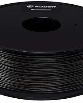 Filament pour imprimante 3D Premium Monoprice, PETG – Noir, 1 kg/Bobine, 1,75 mm d'épaisseur, Super Transparent avec Une…