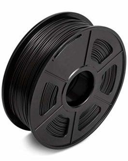 Filament De PLA 1kg, Tolérance: 1,75 +/- 0,02mm, Filament D'imprimante 3D Avec Bobine, Haute Résistance, Sans Bulles…