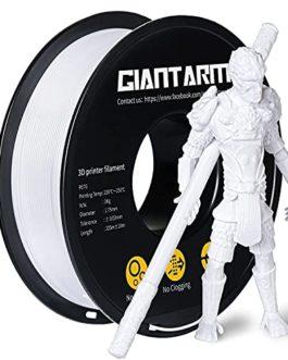Filament GIANTARM PETG 1,75 mm pour imprimante 3D 1 kg, Noir