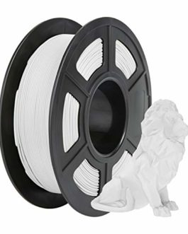 Matte PLA Filament 1.75mm, PRINSFIL Filament PLA Pour Imprimante 3D, 1kg 1 Spool, Matte Black