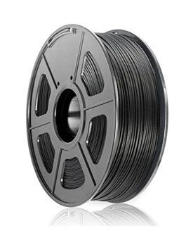 Filament PLA-CF, filament d'imprimante 3D, matériau PLA renforcé de fibre de carbone, 1,75 mm, bobine de 1 kg, 300m