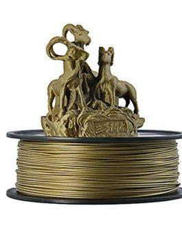Filament Pla Métal 1.75mm, filament d'imprimante 3D, 0.5kg, Bronze, plus de 30% de teneur en métal