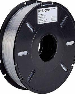 Filament Renkforce PC (Polycarbonate) 1.75 mm Transparent 500 g