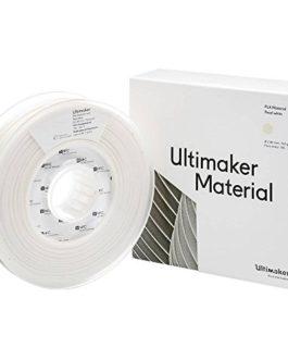 Filament Ultimaker PLA – M0751 Pearl White 750-211399 Plastique PLA 2.85 mm Blanc nacré 750 g