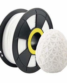 Filament de imprimante 3D ZIRO PETG 1,75 1 kg (2,2 lb), précision dimensionnelle +/- 0,03 mm,Rouge