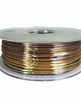 Filament de l'imprimante PLA 3D coloré 1.75mm 0,25/0.5 / 1kg Filament 3D Matériaux d'impression Filament de métal ZRONG…