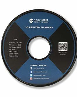 Filament d'impression 3D SainSmart Flexible TPU, 1.75 mm, 0.8 kg, Précision dimensionnelle +/- 0.05 mm, Kaoss Violet