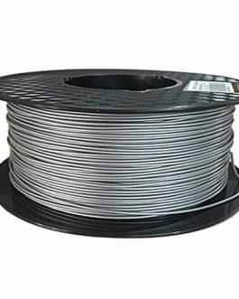 Filament en métal PLA 1.75 mm, impression 3D Filament Filament Silver 1 kg (2,2 lb), avec poudre métallique ajoutée