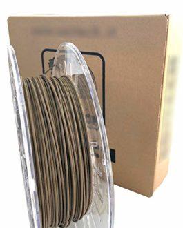 Filament imprimante 3D – PLA métal (20 % PLA, 80 % bronze) Couleur bronze – 1,75 mm – Poids 750 g – Impression 3D