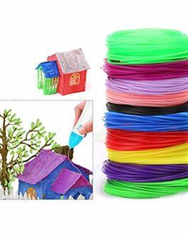 Filament imprimante 3D,Filament ABS,Imprimante 3D Filament PLA 1.75mm,PCL Filament,Filament d'impression 3D (10 couleurs…