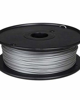 Filament métal PLA 1,75 mm, filament d'imprimante 3D 0,5 kg, 60% PLA + 40% poudre métallique-Aluminium