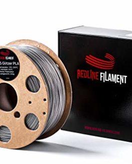 Filament à paillettes PLA 1,75 mm pour votre imprimante 3D – Bobine en carton rigide – Qualité supérieure en provenance…