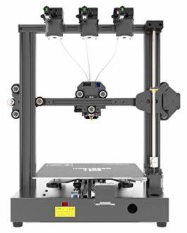 GIANTARM Imprimante 3D Geeetech A20T avec Trois extrudeuses, Base de Construction intégrée, Fonction de Reprise de Pause, Assemblage Rapide, kit de Bricolage, 250 * 250 * 250 mm³