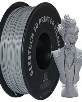 GEEETECH Filament PLA 1.75mm Imprimante 3D Filament PLA pour Imprimante 3D, 1kg Spool, Noir