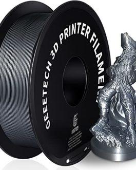 GEEETECH PETG Filament 1.75 mm Blanc, Filament PETG 1kg Spool pour Imprimante 3D