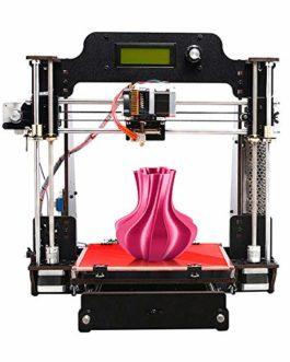 GEEETECH Prusa I3W Diy Kit d'imprimante 3D compatible avec filaments PLA/ABS/TPU/PETG 1,75 mm