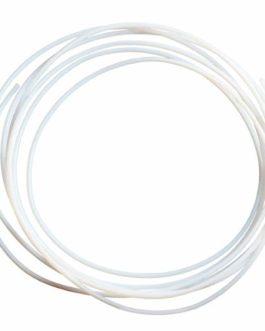 GIANTARM Tube en téflon PTFE de 1 m avec un diamètre intérieur de 2 mm et un diamètre extérieur de 4 mm pour filament d…